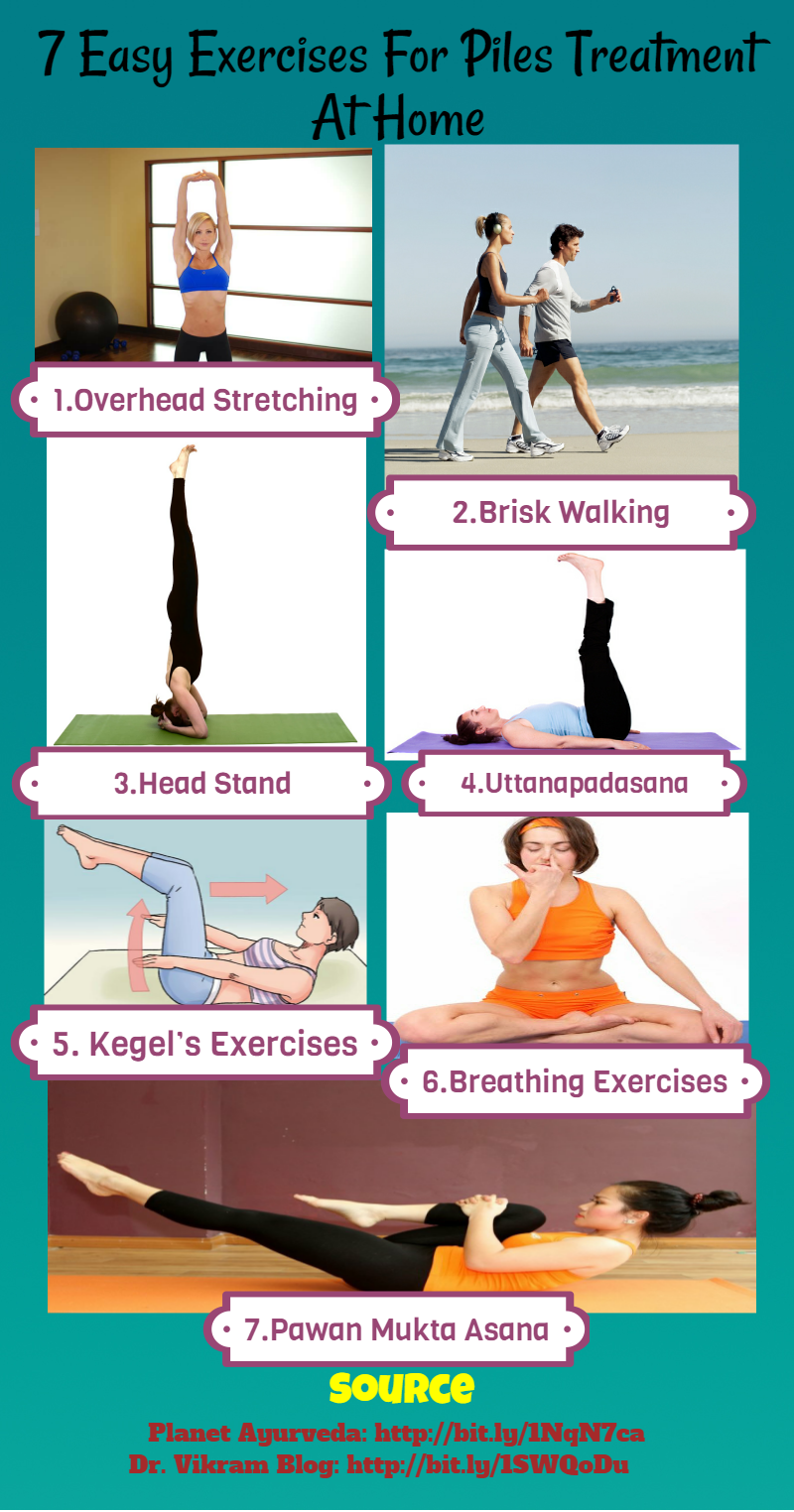 36 Easy Exercises For Piles Treatment At Home