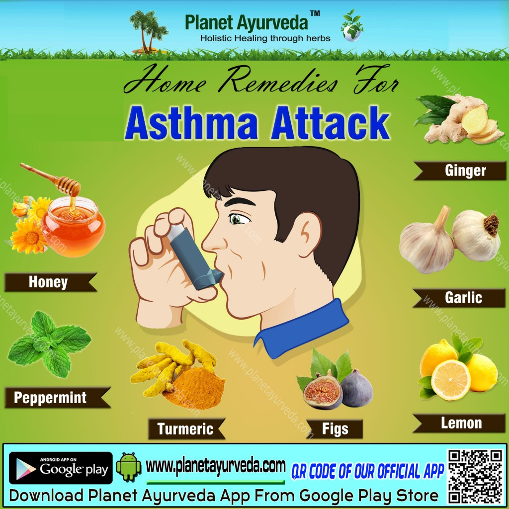 Top 10 Home Remedies for Asthma