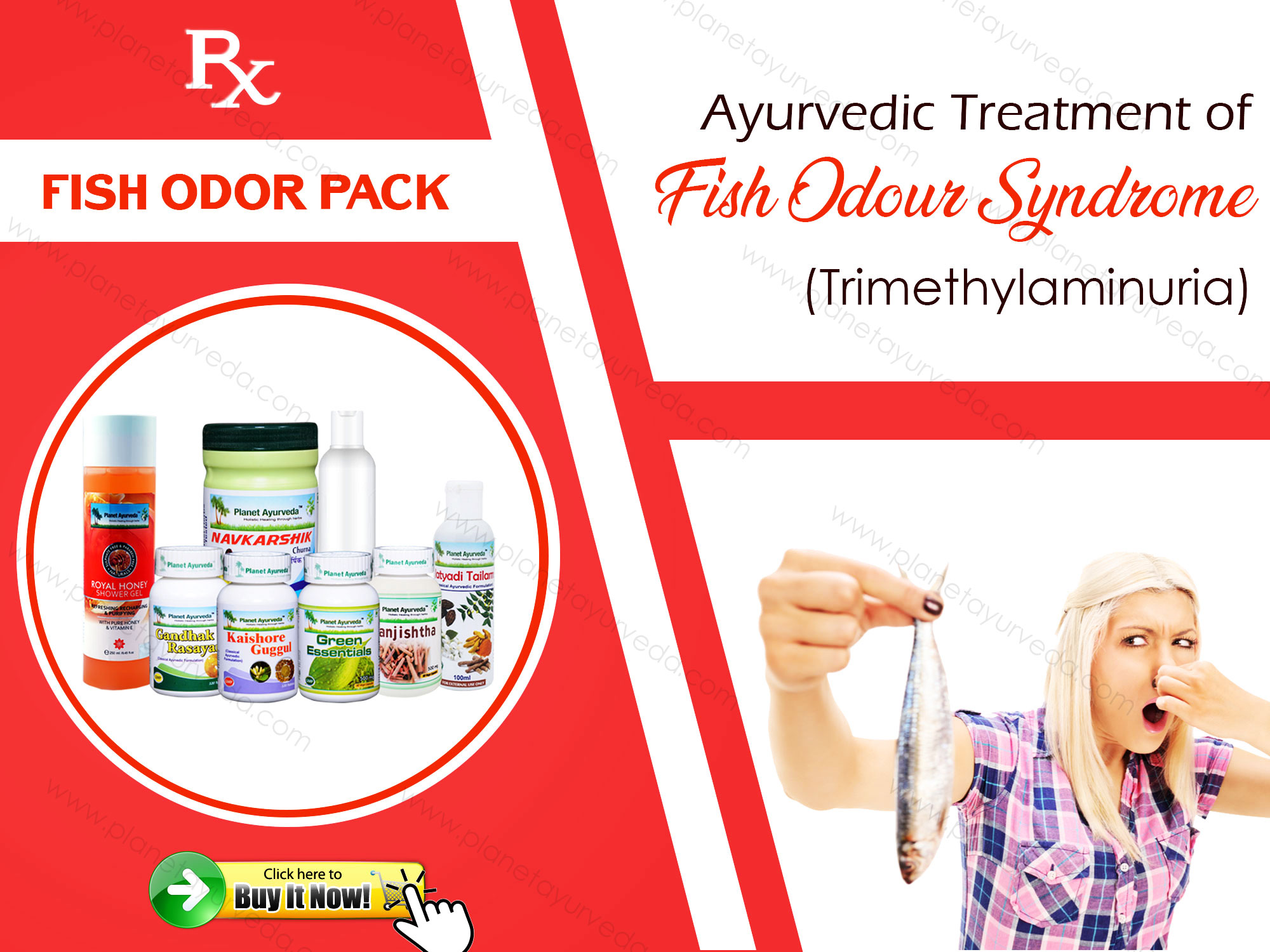 Treatment of Trimethylaminuria with Ayurveda