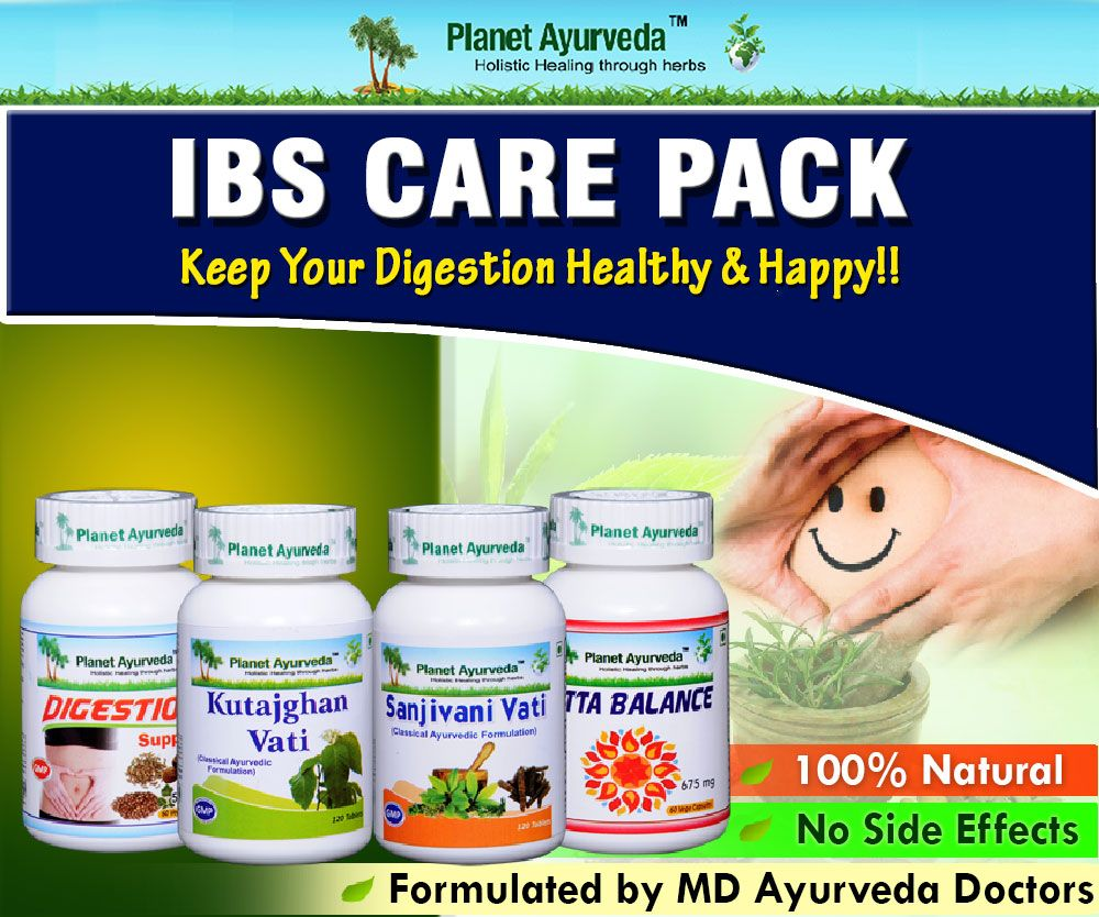 Ayuredic Treatment For Irritable Bowel Syndrome(IBS)