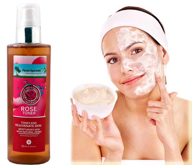 Rose Toner With Body Butter Cream