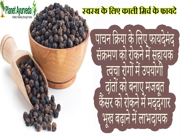 Black Pepper Health Benefits
