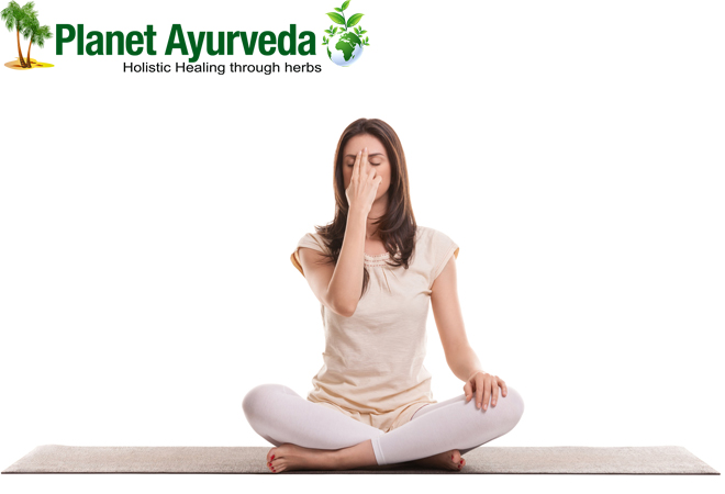 Psoriasis treatment with Pranayama